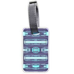 Modern Pattern Factory 01 Luggage Tags (One Side)