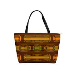 Modern Pattern Factory 01b Shoulder Handbags
