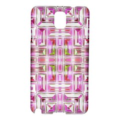 Modern Pattern Factory 01 Samsung Galaxy Note 3 N9005 Hardshell Case