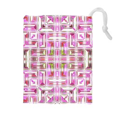 Modern Pattern Factory 01 Drawstring Pouches (extra Large)