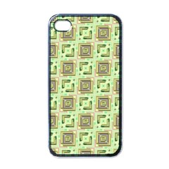 Modern Pattern Factory 04 Apple iPhone 4 Case (Black)