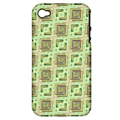 Modern Pattern Factory 04 Apple iPhone 4/4S Hardshell Case (PC+Silicone)