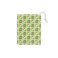 Modern Pattern Factory 04 Drawstring Pouches (XS)