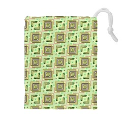 Modern Pattern Factory 04 Drawstring Pouches (Extra Large)