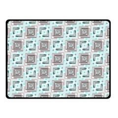 Modern Pattern Factory 04b Double Sided Fleece Blanket (Small)