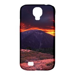SAN GABRIEL MOUNTAIN SUNSET Samsung Galaxy S4 Classic Hardshell Case (PC+Silicone)