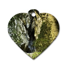 MOUNTAIN PATH Dog Tag Heart (Two Sides)