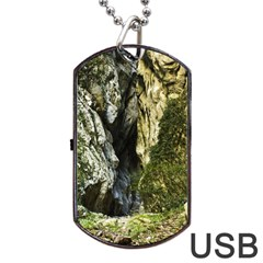 MOUNTAIN PATH Dog Tag USB Flash (Two Sides)