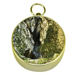 Mountain Path Gold Compasses