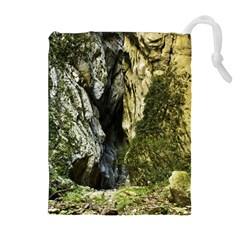 Mountain Path Drawstring Pouches (extra Large)