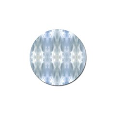 Ice Crystals Abstract Pattern Golf Ball Marker (4 pack)