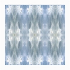 Ice Crystals Abstract Pattern Medium Glasses Cloth (2 Side)