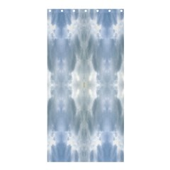 Ice Crystals Abstract Pattern Shower Curtain 36  x 72  (Stall)