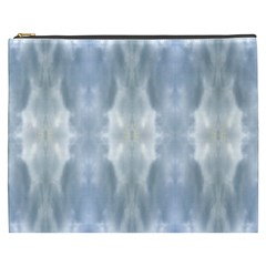 Ice Crystals Abstract Pattern Cosmetic Bag (XXXL)
