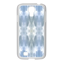 Ice Crystals Abstract Pattern Samsung GALAXY S4 I9500/ I9505 Case (White)