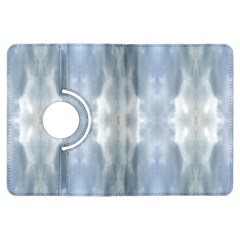 Ice Crystals Abstract Pattern Kindle Fire HDX Flip 360 Case