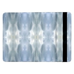 Ice Crystals Abstract Pattern Samsung Galaxy Tab Pro 12.2  Flip Case