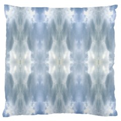 Ice Crystals Abstract Pattern Large Flano Cushion Cases (Two Sides)