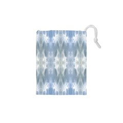 Ice Crystals Abstract Pattern Drawstring Pouches (XS)