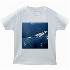 Mount Tapuaenuku Kids White T Shirts