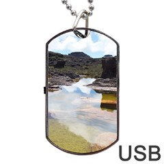 MOUNT RORAIMA 1 Dog Tag USB Flash (Two Sides)