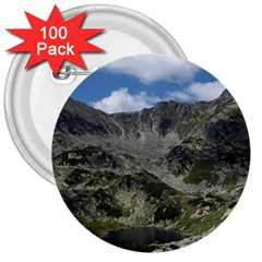 LAKELET 3  Buttons (100 pack)