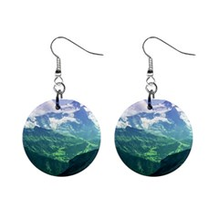 LAGHI DI FUSINE Mini Button Earrings