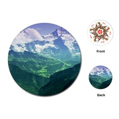 LAGHI DI FUSINE Playing Cards (Round)