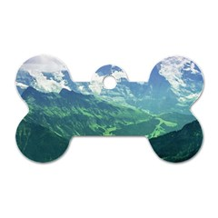LAGHI DI FUSINE Dog Tag Bone (Two Sides)