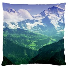 LAGHI DI FUSINE Large Flano Cushion Cases (Two Sides)