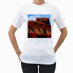 GRAND CANYON 3 Women s T-Shirt (White) (Two Sided)