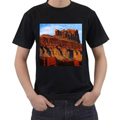 GRAND CANYON 3 Men s T-Shirt (Black) (Two Sided)