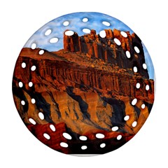 GRAND CANYON 3 Round Filigree Ornament (2Side)