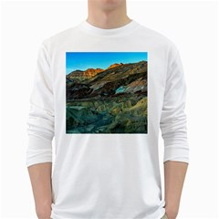 Artists Palette 1 White Long Sleeve T Shirts