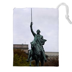 WASHINGTON STATUE Drawstring Pouches (XXL)