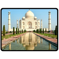 Taj Mahal Double Sided Fleece Blanket (large)