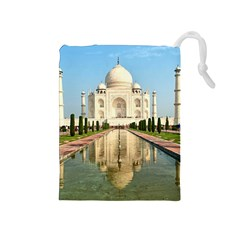 Taj Mahal Drawstring Pouches (medium)