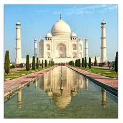Taj Mahal Large Satin Scarf (square)