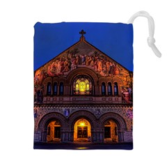 STANFORD CHRUCH Drawstring Pouches (Extra Large)