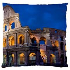 Rome Colosseum 2 Large Flano Cushion Cases (one Side)
