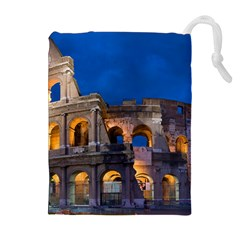 ROME COLOSSEUM 2 Drawstring Pouches (Extra Large)