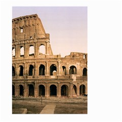 Rome Colosseum Large Garden Flag (two Sides)