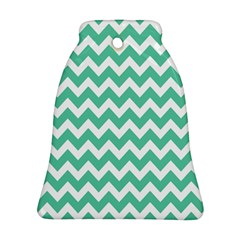 Chevron Pattern Gifts Ornament (bell)