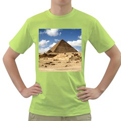 Pyramid Giza Green T Shirt