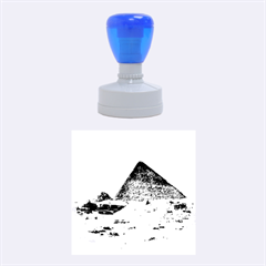 Pyramid Giza Rubber Round Stamps (medium)