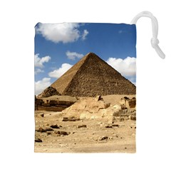 PYRAMID GIZA Drawstring Pouches (Extra Large)
