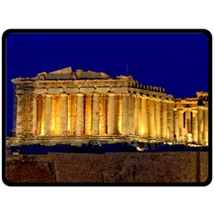 Parthenon 2 Fleece Blanket (large)
