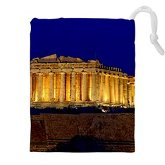 PARTHENON 2 Drawstring Pouches (XXL)