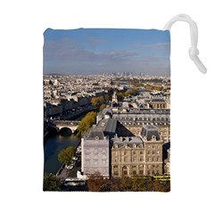 NOTRE DAME Drawstring Pouches (Extra Large)