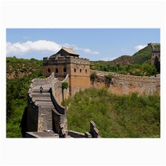 Great Wall Of China 3 Large Glasses Cloth (2 Side)